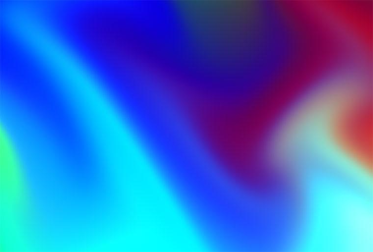 html5 canvas交互式彩色渐变背景动画特效 - 扩黑科技